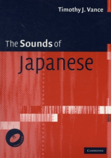 The Sounds of Japanese with Audio CD, Mixed media product Book
