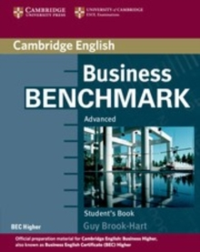 Business Benchmark Advanced Student's Book BEC Edition, Paperback / softback Book