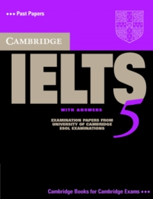 Cambridge IELTS 5 Student's Book with Answers, Paperback / softback Book
