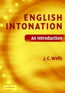 English Intonation PB and Audio CD : An Introduction, Mixed media product Book