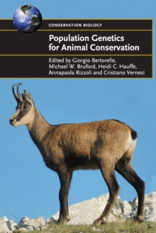 Population Genetics for Animal Conservation, Paperback Book