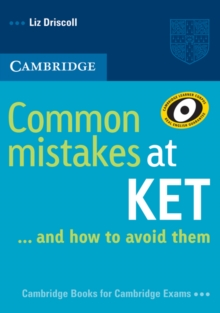 Common Mistakes : Common Mistakes at KET: And How to Avoid Them, Paperback / softback Book