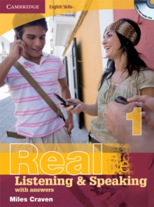 Cambridge English Skills Real Listening and Speaking 1 with Answers and Audio CD, Mixed media product Book