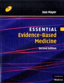 Essential Evidence-based Medicine with CD-ROM, Mixed media product Book