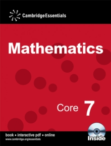 Cambridge Essentials Mathematics Core 7 Pupil's Book with CD-ROM, Mixed media product Book