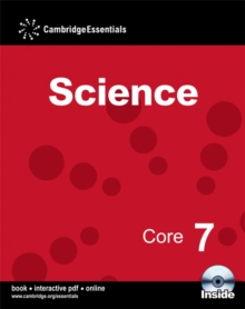 Cambridge Essentials Science Core 7 Book with CD-ROM, Mixed media product Book