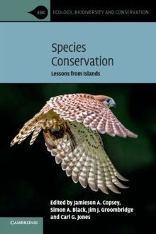 Species Conservation : Lessons from Islands, Paperback / softback Book