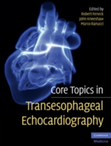 Core Topics in Transesophageal Echocardiography, Hardback Book
