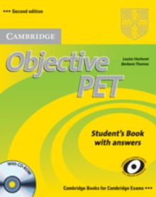 Objective : Objective PET Student's Book with answers with CD-ROM, Mixed media product Book
