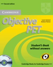 Objective PET Self-study Pack (Student's Book with answers with CD-ROM and Audio CDs(3)), Mixed media product Book