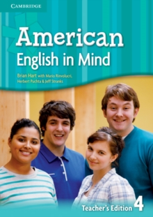 American English in Mind Level 4 Teacher's Edition, Spiral bound Book