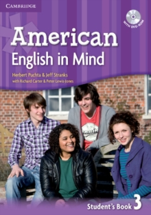 American English in Mind Level 3 Student's Book with DVD-ROM, Mixed media product Book