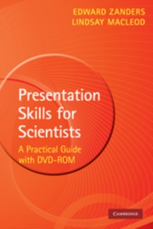Presentation Skills for Scientists with DVD-ROM : A Practical Guide, Mixed media product Book