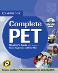 Complete : Complete PET Student's Book with answers with CD-ROM, Mixed media product Book