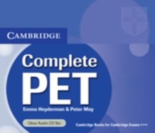 Complete PET Class Audio CDs (2), CD-Audio Book