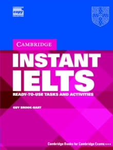 Cambridge Copy Collection : Instant IELTS Pack: Ready-to-use Tasks and Activities, Mixed media product Book