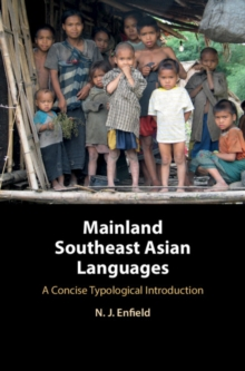 Mainland Southeast Asian Languages : A Concise Typological Introduction, Hardback Book