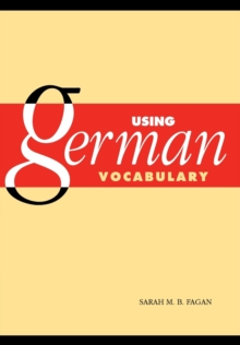 Using German Vocabulary, Paperback Book