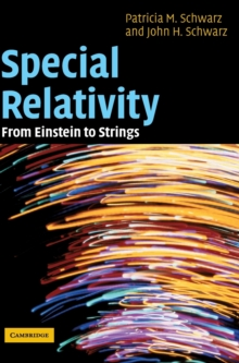 Special Relativity : From Einstein to Strings, Hardback Book