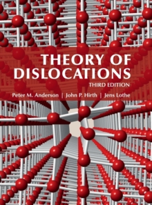 Theory of Dislocations, Hardback Book