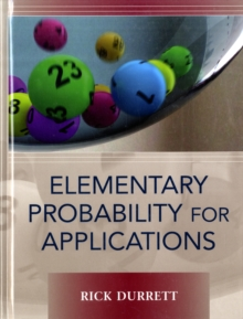Elementary Probability for Applications, Hardback Book