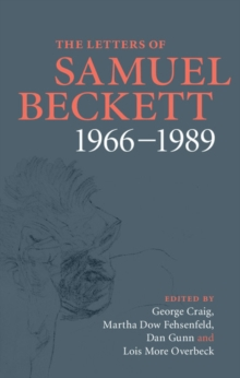 The Letters of Samuel Beckett : 1966-1989 Volume 4, Hardback Book
