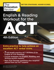 English and Reading Workout for the ACT, Paperback / softback Book