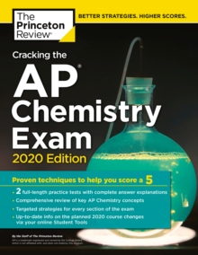 Cracking the AP Chemistry Exam, 2020 Edition, Paperback / softback Book