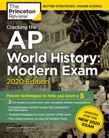 Cracking the AP World History: Modern Exam, 2020 Edition, Paperback / softback Book