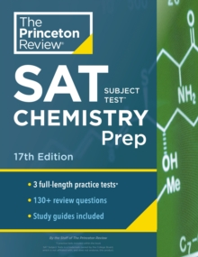 Cracking the SAT Subject Test in Chemistry, Paperback / softback Book