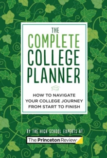 The Complete College Planner, Other printed item Book
