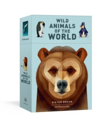 Wild Animals of the World: 50 Postcards, Postcard book or pack Book