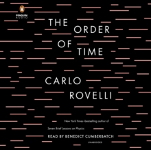 The Order of Time, eAudiobook MP3 eaudioBook