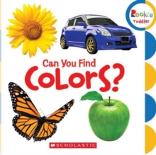 Can You Find Colors? (Rookie Toddler), Board book Book