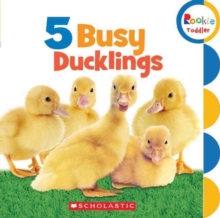 5 Busy Ducklings (Rookie Toddler), Board book Book