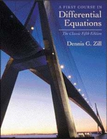 A First Course in Differential Equations : The Classic Fifth Edition, Hardback Book