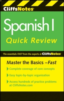 CliffsNotes Spanish I Quick Review, 2nd Edition, EPUB eBook