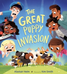 The Great Puppy Invasion, Hardback Book