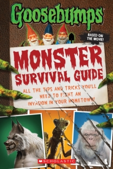 Goosebumps: Monster Survival Guide, Hardback Book