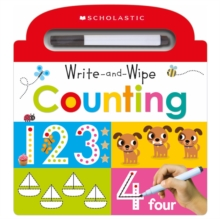 Write and Wipe Counting: Scholastic Early Learners (Write and Wipe), Board book Book