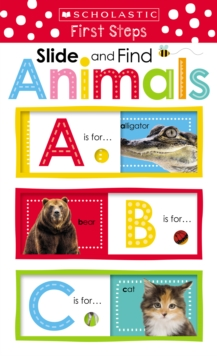 Slide and Find Animals (Scholastic Early Learners: Slide and Find), Novelty book Book