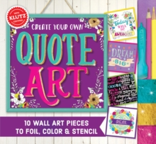 Create Your Own Quote Art, Mixed media product Book