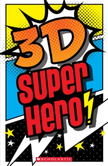 3-D Superhero, Hardback Book