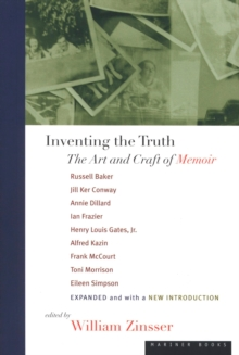 Inventing the Truth : The Art and Craft of Memoir, EPUB eBook