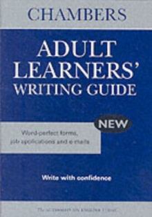Chambers Adult Learners' Writing Guide, Paperback Book