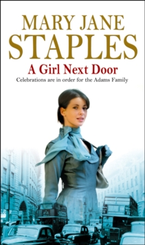 A Girl Next Door : An Adams Family Saga Novel, Paperback Book