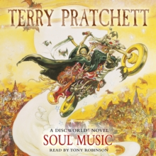 Soul Music : (Discworld Novel 16), CD-Audio Book