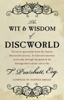 The Wit and Wisdom of Discworld, Paperback Book