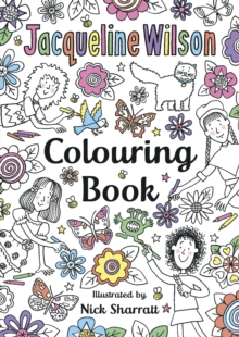 The Jacqueline Wilson Colouring Book, Paperback / softback Book