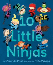 10 Little Ninjas, Hardback Book